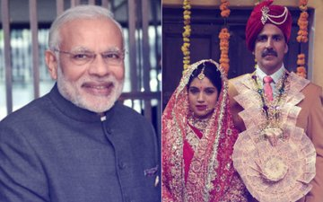Prime Minister Narendra Modi Is All Praise For Akshay Kumar's Toilet -Ek Prem Katha Trailer