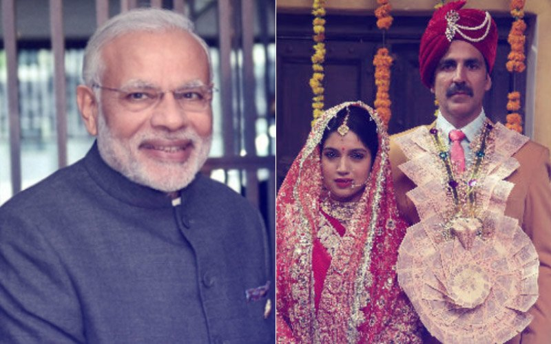 Prime Minister Narendra Modi Is All Praise For Akshay Kumar's Toilet -Ek Prem Katha Trailer
