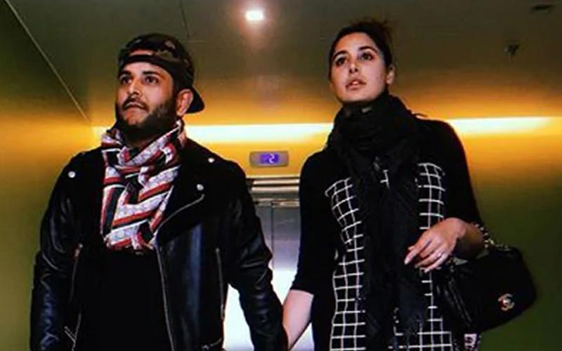Nargis Fakhri with Matt Alonzo
