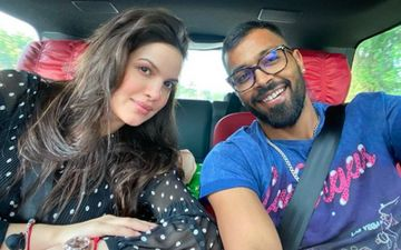 Hardik Pandya Shares A Dreamy Family Picture With Pregnant Wifey Natasa Stankovic And Their Pet Dogs; Its #GOALS