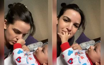 Hardik Pandya's Wife Natasa Stankovic Playing With Baby Agastya Is the Cutest Thing You'll See On The Internet Today