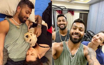 Hardik Pandya Is Quarantined With Fiancée Natasa Stankovic And His Family; Latest Pictures Scream Love