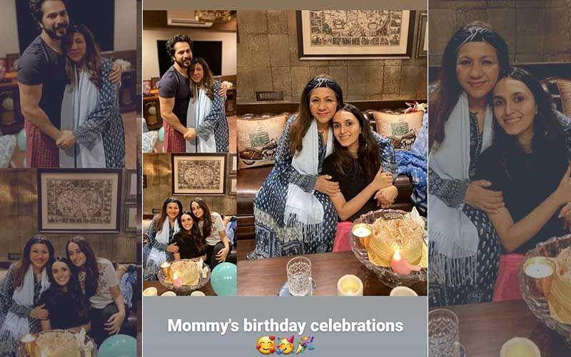 Amid Wedding Rumours Girlfriend Natasha Dalal Celebrates Varun Dhawan's Mother's Birthday; INSIDE PICTURES Go Viral On Social Media