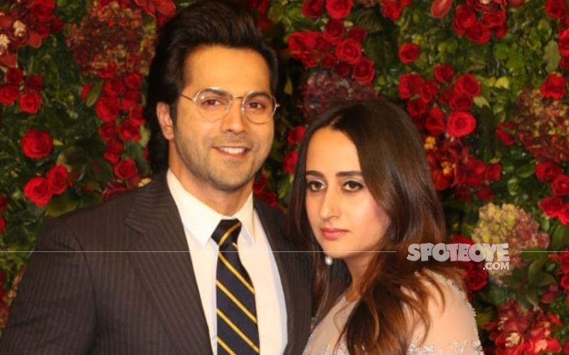 FIRST PICTURES From Varun Dhawan- Natasha Dalal's Wedding In Alibaug; Couple Looks Radiant And Oh-So-In-Love