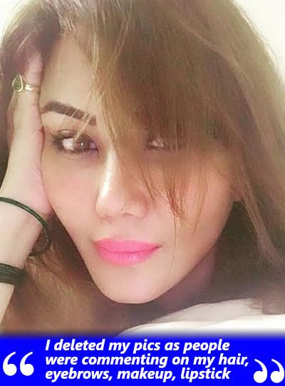 nausheen ali sardar deleted some of her instagram pictures