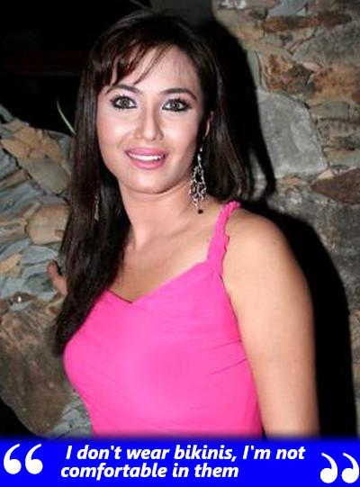 nausheen ali sardar says she is not comfortable in wearing bikinis
