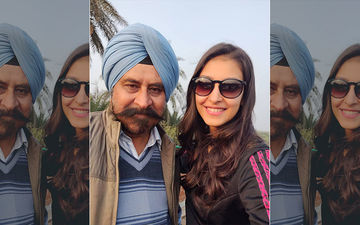Navneet Kaur Dhillon Shares A Cute Post On Her Dad's Birthday