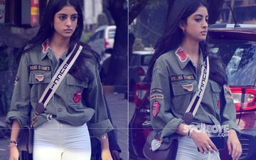 Navya Naveli Nanda Makes A Cool Style Statement Post Salon Visit