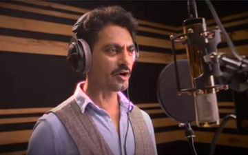 Nawazuddin Siddiqui Is In The Recording Studio With Tamannaah Bhatia; Actor Raps Like A True Star For Swaggy Chudiyan: VIDEO Inside