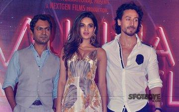 Tiger Shroff, Nidhhi Agerwal, Nawazuddin Siddiqui Grace Munna Michael's Trailer Launch
