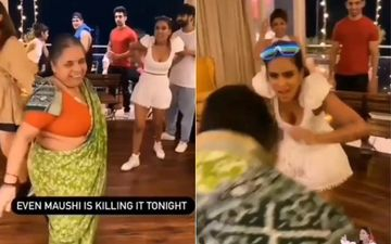 Nia Sharma Dances On Marathi Songs With Ravi Dubey-Sargun Mehta's Domestic Help;  It Is Seriously The Best Thing On The Internet Today