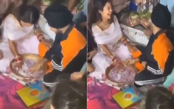 Neha Kakkar And Rohanpreet Singh's Post-Wedding Ceremony VIRAL Video: Bride And Groom Enter Into A Contest To Grab A Ring
