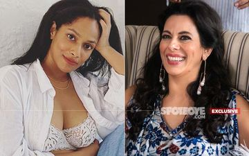 Meet Masaba Gupta's Counselor Pooja Bedi- EXCLUSIVE PIC From Their Upcoming Web Series