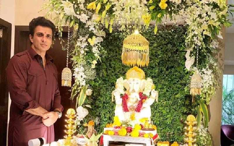 INSIDE Sonu Sood's Plush 4 BHK Apartment That's A Mixture Of Simplicity And Class - PICS