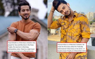 TikTok Stars Faisal Shaikh And Hasnain Khan Embroiled In IDENTITY THEFT Scandal; Have The Boys Stolen Cricketers' Identities?