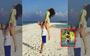 Drashti Dhami Flaunts Sexy Back In A Backless Swimsuit From Her Maldivian Vacay; Leaves Fans Hyperventilating – PICS Inside
