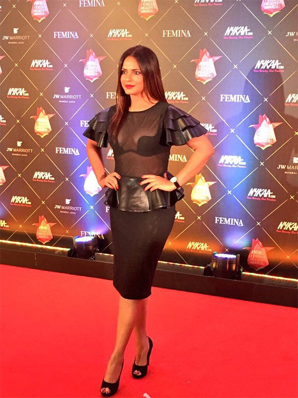 neetu chandra at femina beauty awards