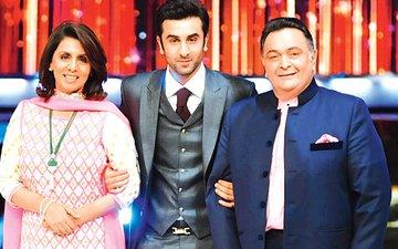 Rishi Kapoor Gets ANNOYED When Ranbir & Neetu Kapoor...