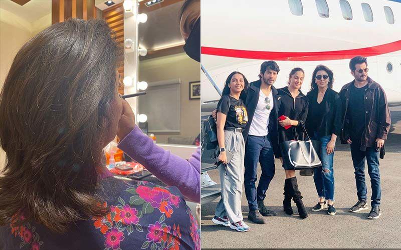 Jug Jugg Jeeyo: Neetu Kapoor Remembers Late Rishi Kapoor As She Begins Film Shoot After Years: 'I Find Myself All By Myself'