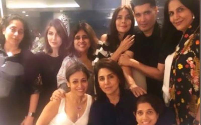 Neetu Kapoor Reunites With Her Loved Ones Riddhima Kapoor, Manish Malhotra And Others, Days After She Tested Negative For Coronavirus