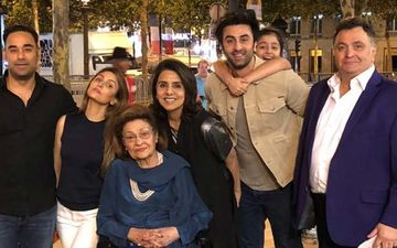 This Day That Year: When Neetu Kapoor Celebrated Her Birthday With Her 'Paris Gang' Rishi Kapoor, Ranbir Kapoor And Others- PICS