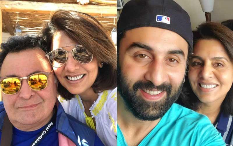 Neetu Kapoor Pens A Heartfelt Note Thanking Ranbir, Riddhima And Jug Jugg Jeeyo Makers; Remebers Rishi Kapoor Calling 2020 A 'Roller Coaster Ride'