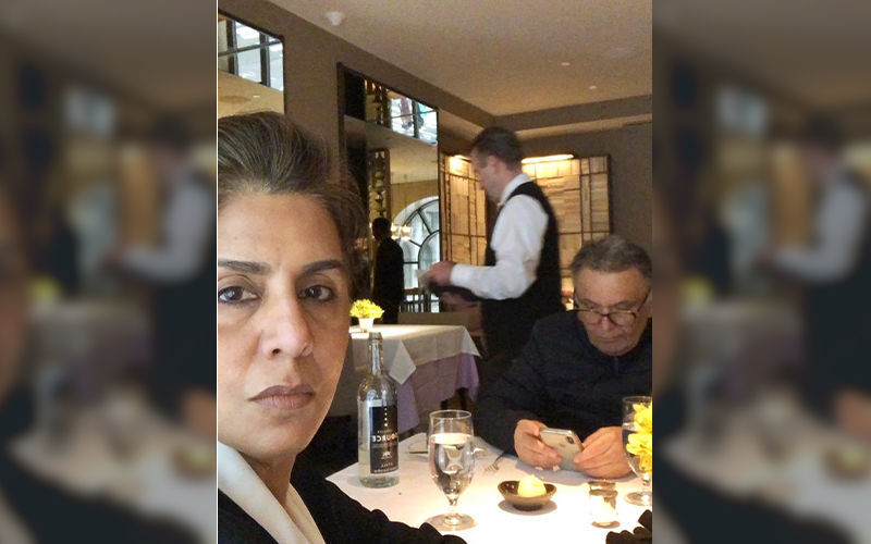 "Rishi Kapoor Shares Date Night Disaster Photo From New York; Actor Bashes ""Over Rated, Over Priced And Arrogant"" Restaurant"