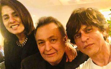 शाहरुख खान ने न्यूयॉर्क में की ऋषि कपूर से मुलाकात