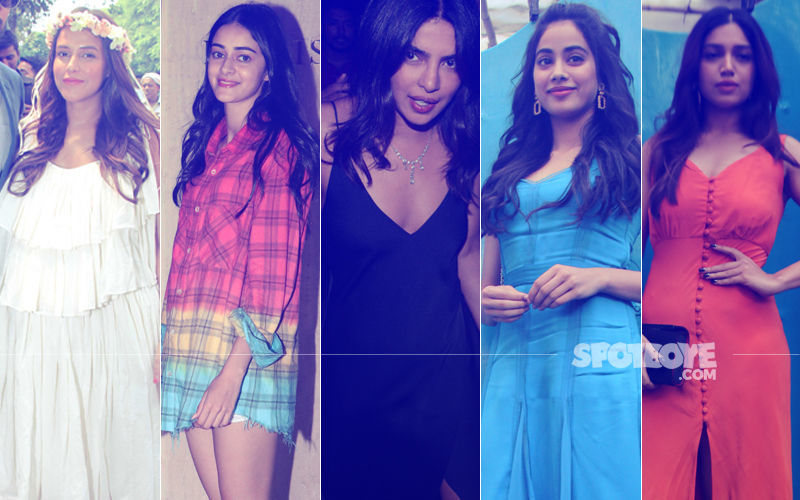STUNNER OR BUMMER: Neha Dhupia, Ananya Panday, Priyanka Chopra, Janhvi Kapoor Or Bhumi Pednekar?