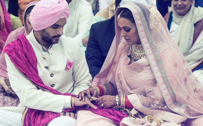 Neha-Angad Wedding: Couple's 'Ring' Moment; Guests Get Half-A-Day To Turn Up