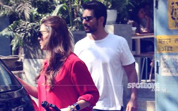 Is Something Brewing Between Neha Dhupia & Angad Bedi?