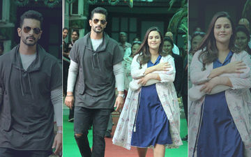 Neha Dhupia- Angad Bedi Bring Their Firstborn Mehr Home