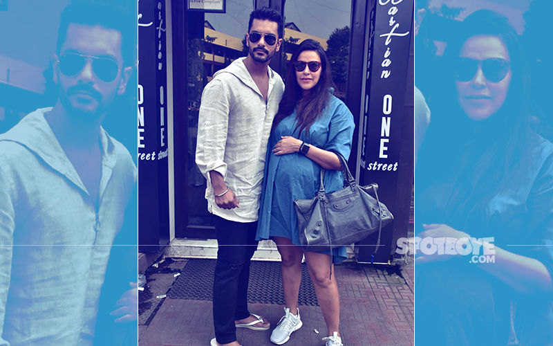 Neha Dhupia & Angad Bedi Enjoy A Lunch Date; View Pics
