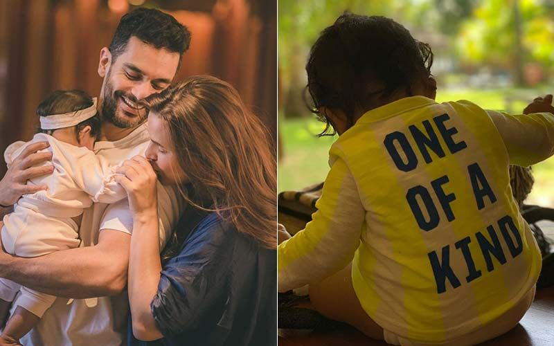 Neha Dhupia-Angad Bedi's Baby Mehr Turns 7 Months Old; Actors Share Adorable Pics Of Their Li'l Princess