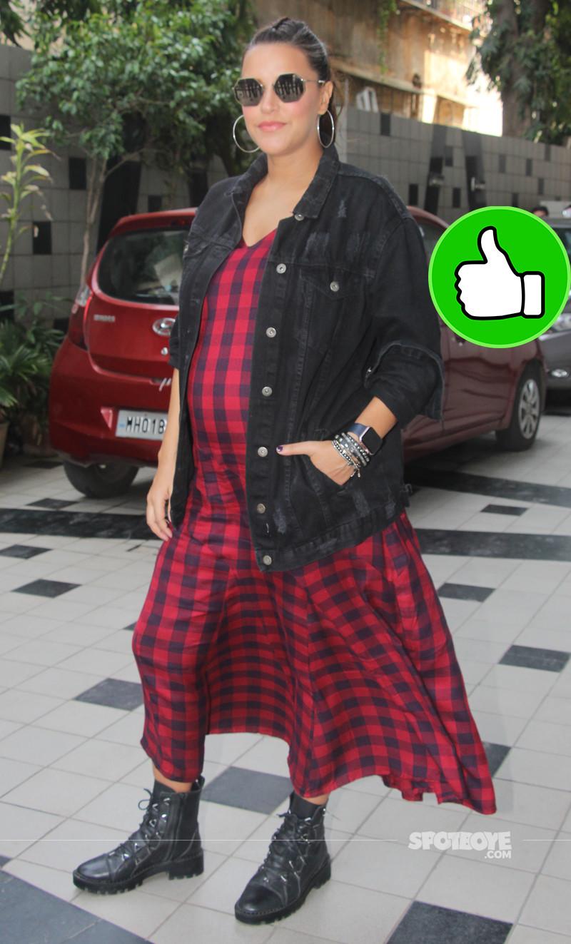 neha dhupia snapped post shoot