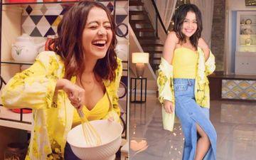 Neha Kakkar Shares Her Kitchen Vs Living Room Moods; The Cuteness Is Intact