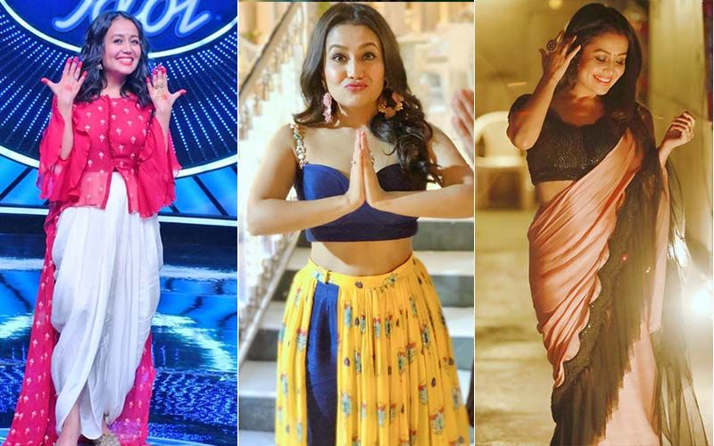 Diwali 2019 Neha Kakkar S Indian Idol Wardrobe Will Give You Styling Tips This Festive Season
