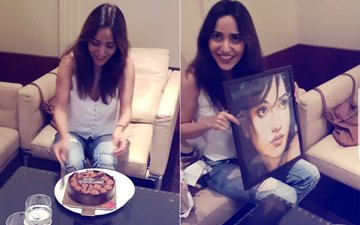 Youngistaan Actress Neha Sharma Celebrates Her Birthday With Her Fans