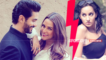 After Denying Angad Bedi's Existence, Ex-Lover Nora Fatehi Makes Neha Dhupia Uncomfortable: Badaltey Rishtey