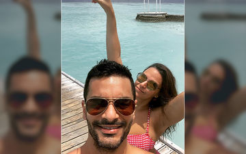 Neha Dhupia And Angad Bedi Are Setting The Internet On Fire With Their Steamy Vacation Pictures From Maldives