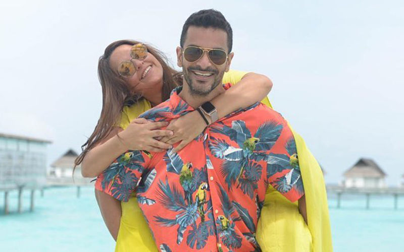 """Angad Bedi  Wishes Wife Neha Dhupia On Her Birthday: """"Waheguru Mehr Kare, I Asked For One But Got Two Of You"""""""