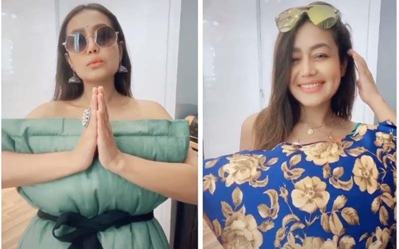 Indian Idol 11's Neha Kakkar Slays The Instagram Pillow Challenge; Fans Shower Her With Praises: 'Chand Ka Tukda Ho Aap'