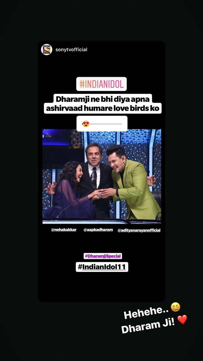 Neha Kakkars Instagram Story