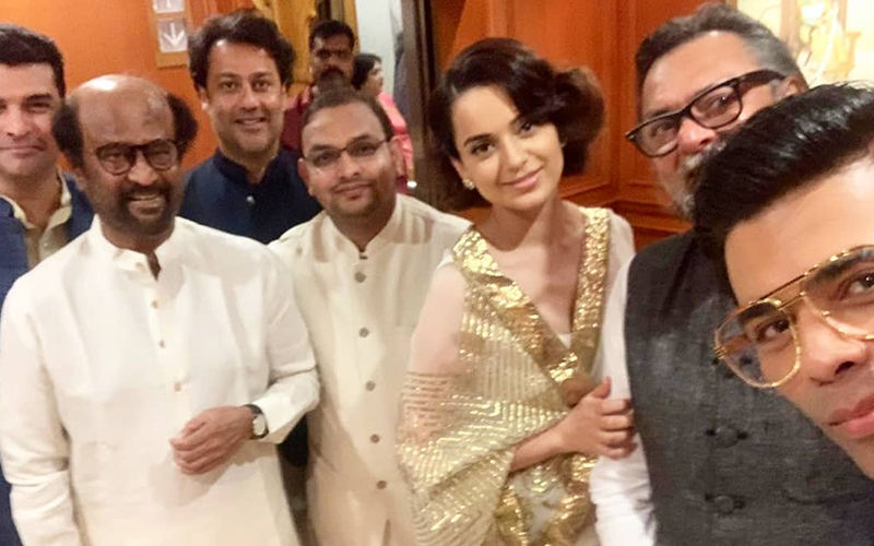Nepotism Debate Ke Baad, Karan Johar-Kangana Ranaut Come Together For A Selfie Moment At PM Modi's Swearing-In Ceremony
