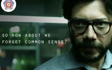 Mumbai Police Takes A Dig At Lockdown Violators Using A Sassy Quote By Money Heist's Professor