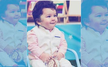 NEW PICS: Taimur Ali Khan's Mischievous Grin Wins The Day