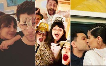 New Year 2021: INSIDE Aishwarya-Abhishek Bachchan's Family Celebrations; Sonam Kapoor-Anand Ahuja Ring In 2021 With A Cosy Kiss, Priyanka Chopra-Nick Jonas Share Adorable Selfies