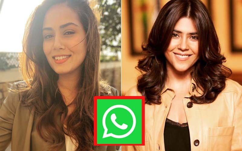 Mira Rajput Accidentally Added Ekta Kapoor In A Mothers' WhatsApp Group And This Is What TV Czarina Did Next