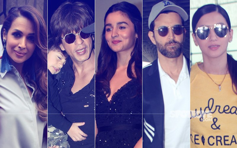 STUNNER OR BUMMER: Alia Bhatt, Shah Rukh Khan, Malaika Arora, Hrithik Roshan Or Gauahar Khan?