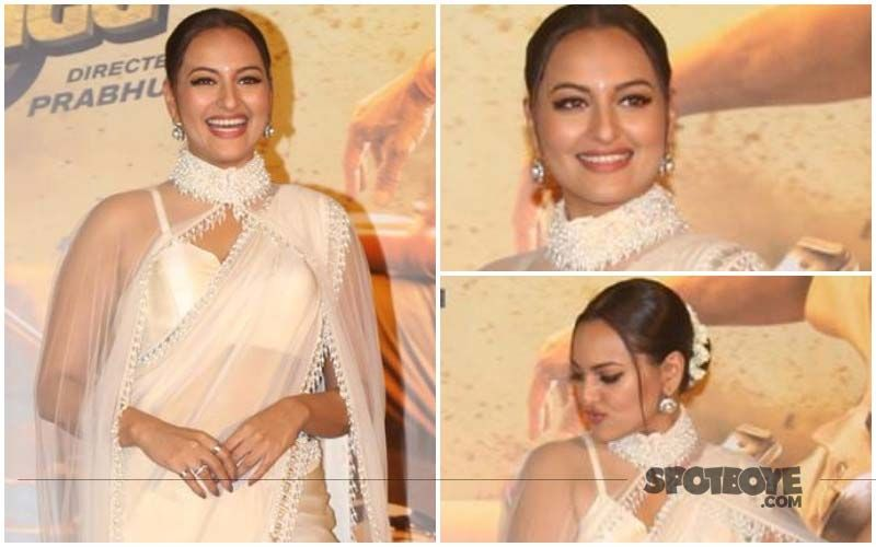 FASHION CULPRIT OF THE DAY: Sonakshi Sinha, 'Epic FAIL' Is What Comes To Our Mind On Seeing That Cape Saree Look!